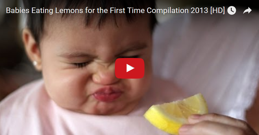 Дете и лимон