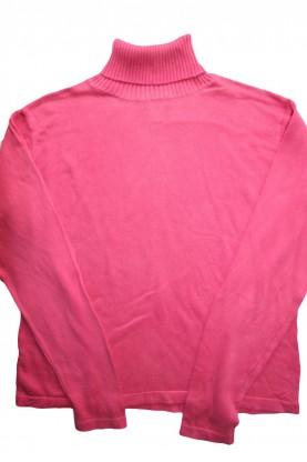 Дамски пуловер, поло яка