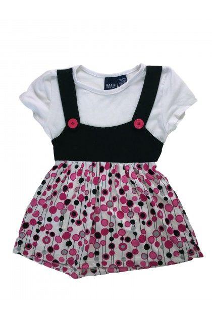 Детски продукт за момичета, Блуза с къс ръкав Basic Editions Тениски, Блузи и Топове