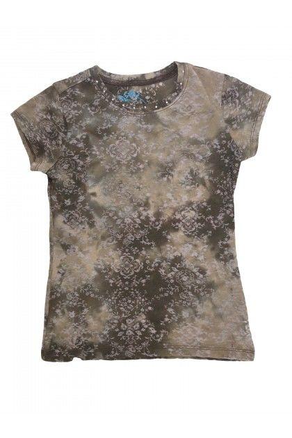 Детски дрехи за момичета, Блуза с къс ръкав Place Тениски, Блузи и Топове