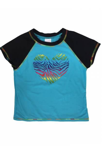 Детски дрехи за момичета, Блуза с къс ръкав Xhilaration Тениски, Блузи и Топове