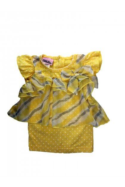 Детски продукт за момичета, Топ Little Lass Тениски, Блузи и Топове