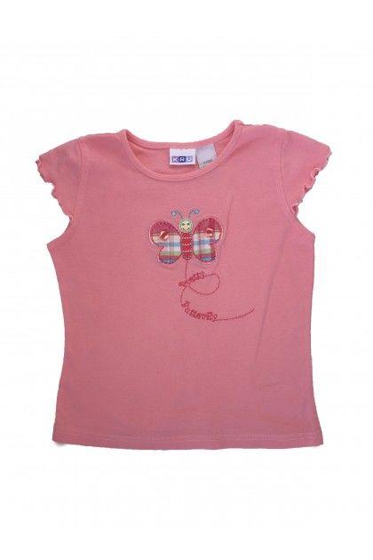 Блуза с къс ръкав KRU