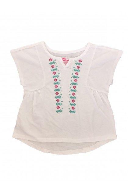 Блуза с къс ръкав Epic Threads